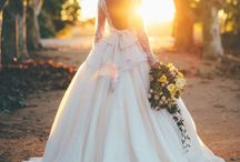 Wedding Gowns / It's all about the dress.