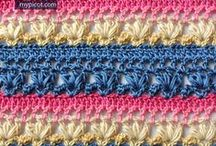 easy crochet patterns and stitches