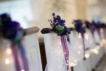 DISZITES ÖTLETEK / Collection of ideas on easy and cheap decoration for wedding.