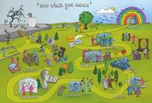 SWYM Strategy Maps / A selection of our Strategy Maps  http://www.seewhatyoumean.co.uk/