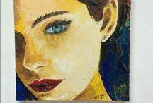 Abstract- Pop Art - Portraits