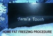 Asrai's Touch / A fat freezing product you can use at home.  Gets rid of stubborn belly fat, that is resistant to diet and exercise. Check it out.