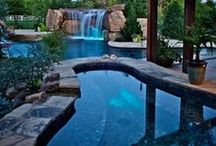 Keep cool in these pools! / An assortment of cool pools we pinned from across the internet and right here on Pinterest. Enjoy!