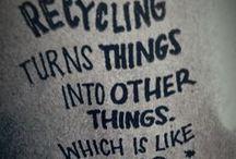 Reciclaje y manualidades