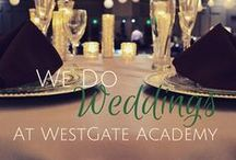 We Do Weddings / Recently engaged? See what we can do for your wedding and reception needs.