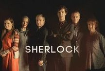 All Things Sherlock / Just love the BBC series Sherlock.  Rarely have I seen such character development in a television series...its phenomenal!  Only problem is 3 episodes per year (if we are lucky).  Guess I am a true fangirl!  / by Kim Campbell-Christ