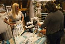 """Lenexa Bridal Show / Gorgeous floral arrangements, mouth-watering snacks and innovative ideas for planning """"the big day"""" take over the Thompson Barn at the annual Lenexa Bridal Show. The 2014 event will be held from 10 a.m. to 3 p.m. on Sunday, Feb. 23."""