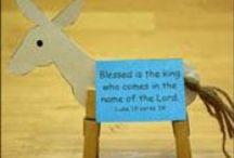 Kids' church craft - Easter