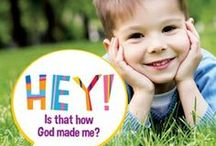 Crazy Faces / Here are some preschool/playgroup activities to extend your enjoyment of 'Hey! is that how God made me?'