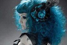 ブードゥーブルー / 黑魔術をコンセプトにした妖艶系ターコイズ!実はやさしい癒し系の色だったり。