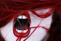 ヴァンパイアキッス / この赤に ドキ・ドキ する感じ フ・シ・ギ。ヴァンパイアってみた事ないけど。^_^;)
