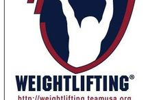 Workout stuff / Weight sports / by Rob Chalfant