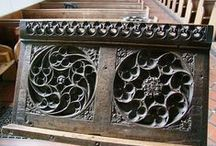 Medieval furniture & wood carving