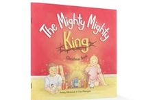The Mighty Mighty King - Christmas Craft / Kids' craft to go with The Mighty Mighty King Christmas Book by Penny Morrison and Lisa Flanagan.   Why do we celebrate the birth of a baby born thousands of years ago? Because he is the mighty mighty king!