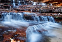 Water Flows / Life flows like a river #water #waterfalls #nature / by CleoLives IN Space