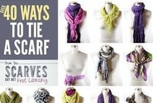 Stylish Scarves - What way do you wear yours ? / by Standun Spiddal