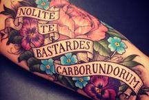 Tattoo Ideas. / Inspiration for future tattoos...