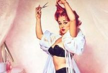 Pin Up. / Pin up photo, hair styles, clothing etc... All related to pin up and rockabilly.