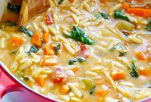 My favorite soups