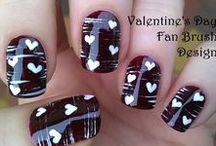 Multi effect fan brush nail art / Make your nails with fan brush