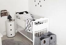 Babykamer / Lief, leuk, stoer, rustig of toch liever ..... Kom met je dikke buik lekker neuzen tussen de leuke ideeën aan babykamers.