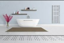 Underfloor heating / underfloor heating is a good solution in hallway and bathroom. The flooring material that conducts heat efficiently, ensuring a stable temperature across the entire floor surface. Warm floors welcomes family members and provides a pleasant feeling even for bare feet. It also allows a faster drying of shoes, and snow and water stains.
