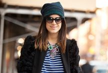Manrepeller wearing statement necklace