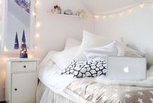 Room Decor / My future room will include: comfiness, coziness, and neutral furniture.