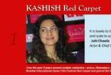 KASHISH Red Carpet / Over the past 8 years several notable celebrities - actors, filmmakers, theater personalities, media personalities - have walked the KASHISH Mumbai International Queer Film Festival Red Carpet and graced the festival as Opening and Closing Night Guests of Honour, Panel Discussion Speakers or as Jury Members.   They comprise the creme-de-creme of Mumbai's cultural scene and we have been honoured to have their presence with us and support to our festival. #indebted #ReachingOutTouchingHearts
