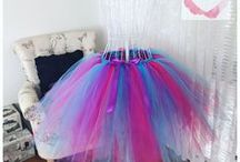 3/4 tutu skirts / Made to order in any chosen colour
