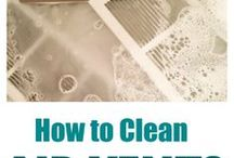Spring Cleaning / Try these ideas while you get your home ready for Spring!