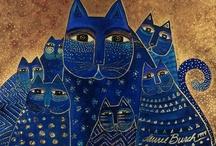 Laurel Burch Cats / I love Laurel Burch .  I have coffee mugs, jewelry, tote bags, etc.   / by Sharon Morningstar-Cecil