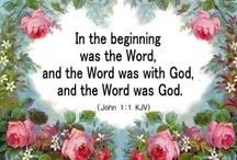 scripture,  prayer / by Sharon Morningstar-Cecil