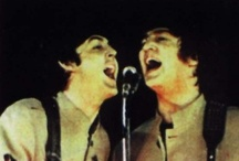 John & Paul  (Lennon & McCartney) / by Sharon Morningstar-Cecil