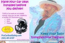 Car Safety & On the Road / Car Safety & On the Road provides awareness and prevention of motor vehicle related injuries with topics covering child safety seats, booster seats, seat belts, heat & cars, backover risk, to driving in the rain/snow, to distractions, etc. to keep your family safe on the road. Car safety services visit www.procarseatsafety.com