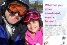 Skiing, Snowboarding & Sledding / Skiing, Snowboarding, & Sledding provides prevention tips. See more safety tips from #DrSafety at http://www.procarseatsafety.com/parent-central.html