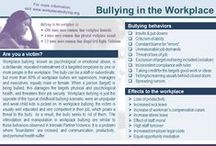 In the Workplace / In the Workplace provides awareness & prevention tips on violence in the workplace, injury ergonomics, to workplace bullying.