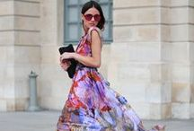 Blooming with colourful fashion / Colour colour colour. We simply love colour and fashion! So colourful fashion is the best!