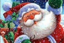 I Believe In Santa! 2 / The Spiritual Magic of Christmas because of Santa. Believe in him!  / by Gloria Castellano