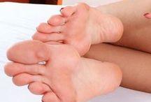 Sexy feet fetish