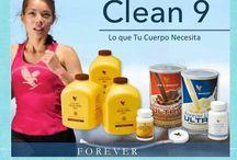 Clean9 / We love aloe vera