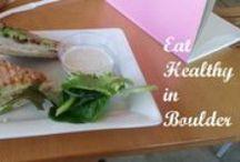 Healthy Restaurants in Boulder, CO / Healthy restaurants in Boulder, CO!