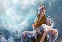 Mermaid & Merman / by Evangeline Vampire