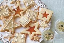 Holiday Cookies / Nothing beats warm, homemade cookies around the holidays!  Here are some recipes and inspiration to get you in the mood for some holiday cheer!