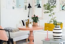 Scandinavian style / Classic cool and inspiring Nordic styled rooms