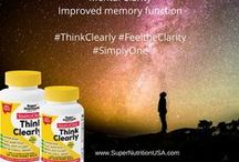 SimplyOne / Pins about our line of SimplyOne Products.  You only need to take one of these optimum potency combinations for your health needs.