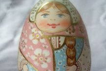 Nesting Dolls / There's beauty on the inside and out! / by Gloria Castellano