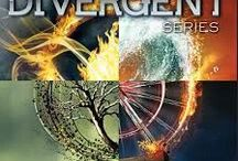 Divergent / A great book series. Favourite  Characters: Tris and Four. Favourite Quote: Fear doesn't shut you down... it wakes you up.