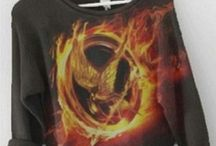The Hunger Games Jewelry and Clothing / Clothing and Jewelry inspired by the book trilogy and movies, The Hunger Games.