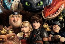 """How to Train Your Dragon / Amazing incredible movies with inspiring characters and incredible story line. Favourite Quote: """"I couldn't kill him because he looked as frightened as I was. I looked at him, and I saw myself."""" Favourite Characters: Hiccup, Toothless, Astrid"""